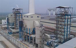 Xinyi(Jiangmeng)Glass Co., LTD. (three boilers and one turbine generator)